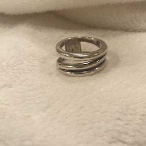 Authentic Tiffany & Co. sterling silver ring